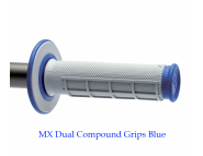 Мото грипсы Renthal MX Dual Compound Grips - Blue
