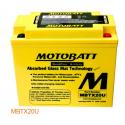 Аккумулятор гелевый Motobatt MB MBTX20U