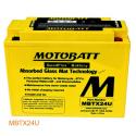 Аккумулятор гелевый Motobatt MB MBTX24U
