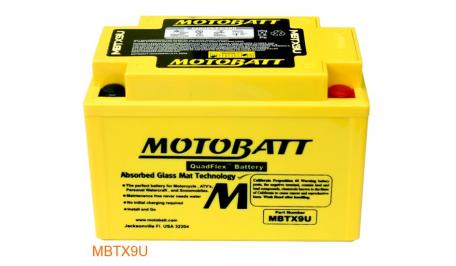 Motobatt MB MBTX9U