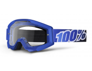 Мото очки 100% STRATA Moto Goggle Blue Lagoon