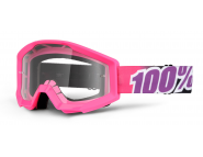 Мото очки 100% STRATA Moto Goggle Bubble Gum - Clear