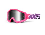 Мото очки 100% STRATA Moto Goggle Bubble Gum - Silver