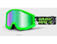 Мото очки STRATA Goggle Crafty Lime
