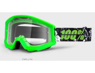 Мото очки STRATA Goggle Crafty Lime - Clear
