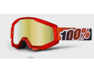 Мотоочки 100% STRATA Goggle Fire Red - Gold