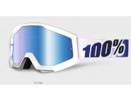 Мото очки 100% STRATA Goggle Ice Age - Blue