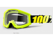 Мото очки 100% STRATA Goggle Neon Yellow - Clear