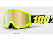 Мото очки 100% STRATA Goggle Neon Yellow - Gold