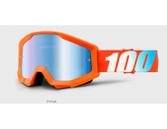 Мото очки 100% STRATA Goggle Orange - Blue