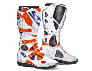 Sidi Crossfire 2 | Мотоботы кроссовые - ORANGE FLUO / WHITE / BLUE