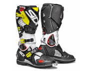 Sidi Crossfire 2 | Мотоботы кроссовые - WHITE / BLACK / YELLOW FLUO