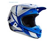 Кроссовый шлем Fox V1 RACE HELMET - Blue