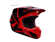 Кроссовый шлем Fox V1 RACE HELMET - Red