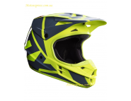 Кроссовый шлем Fox V1 RACE HELMET - Yellow