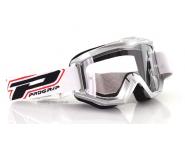Очки для мотокросса Progrip 3201 Race Line Goggles - Silver