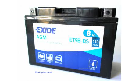 EXIDE YT9B-BS