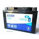 EXIDE YT9B-BS-(ET9B-BS) Аккумулятор гелевый