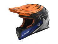 Кроссовый шлем LS2 FAST MX437 - Orange