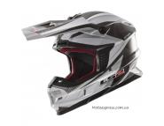 Кроссовый шлем LS2 MX456 - BLACK / WHITE