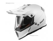 Эндуро шлем LS2 MX436 - White