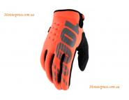 Зимние мотоперчатки BRISKER 100% Cold - Orange