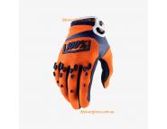 Перчатки для мотокросса Ride 100% AIRMATIC Glove - Orange