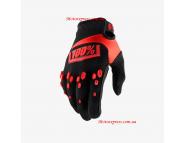 Перчатки для мотокросса Ride 100% AIRMATIC Glove - Black-Red