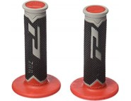 Ручки руля Pro Grip Triple Density Off Road Grip - Black-Red