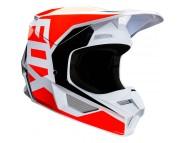 Кроссовый шлем FOX V1 PRIX HELMET (FLO ORANGE)