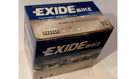 Аккумулятор гелевый EXIDE SLA12-10