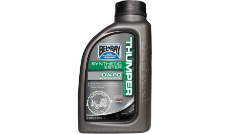 Масло моторное Bel Ray WORKS THUMPER RACING SYNTHETIC ESTER 4T 10w-60 1L