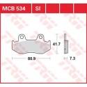Тормозные колодки LUCAS MCB534