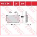 Тормозные колодки LUCAS MCB541
