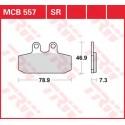Тормозные колодки LUCAS MCB557