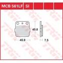 Тормозные колодки LUCAS MCB561SI