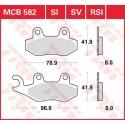 Тормозные колодки LUCAS MCB582SI