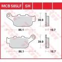 Тормозные колодки LUCAS MCB585