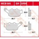 Тормозные колодки LUCAS MCB585SRM