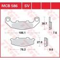 Тормозные колодки LUCAS MCB586