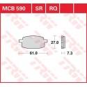 Тормозные колодки LUCAS MCB590