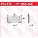 Тормозные колодки LUCAS MCB602SV