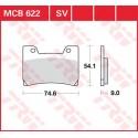 Тормозные колодки LUCAS MCB622