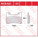 Тормозные колодки LUCAS MCB622SV