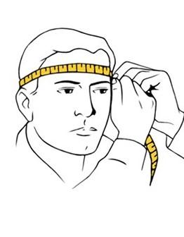 Как мерить голову